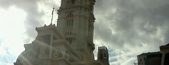 Philadelphia City Hall is one of Badge of Brotherly Love #visitUS.