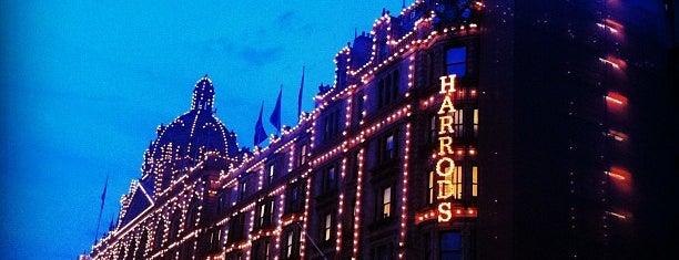 Harrods is one of Unsere TOP Empfehlungen für London.