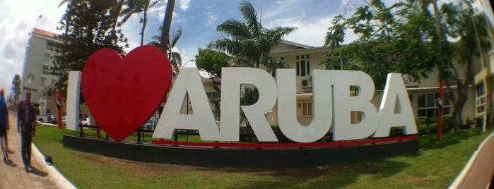 I Love Aruba Landmark is one of Aruba.