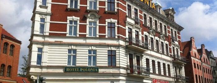 Hotel Polonia Torun is one of Hotels in Torun.