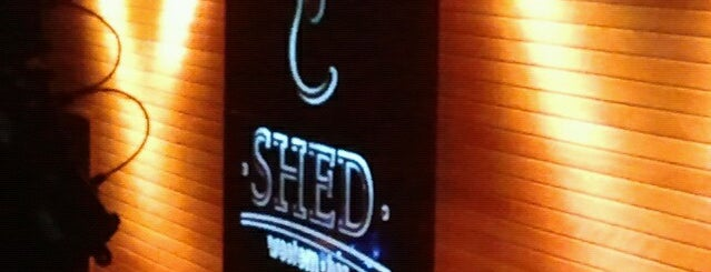 Shed Western Bar is one of Diversão.
