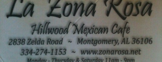 La Zona Rosa is one of Adventures in Dining: USA!.