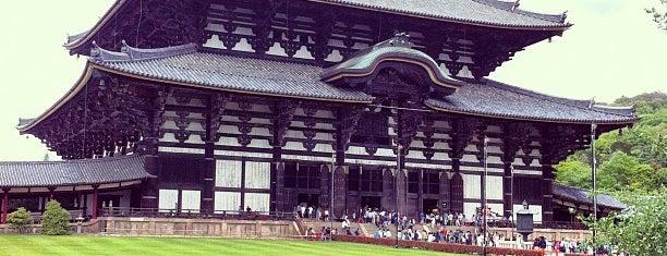 Todai-ji Temple is one of Kyoto, Nara, Hiroshima.