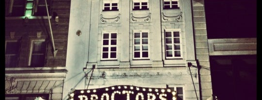 Proctor's Theatre is one of To grandmothers house we go.