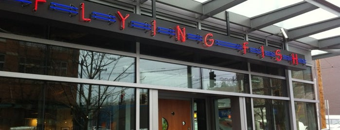 Flying Fish is one of Downtown Seattle Restaurants.