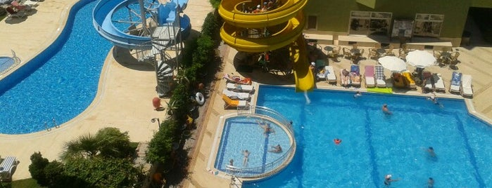 Sunstar Beach Hotel is one of Turkiye Hotels.