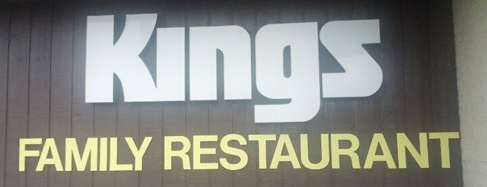 Kings Family Restaurant is one of Tempat yang Disukai Andrew.