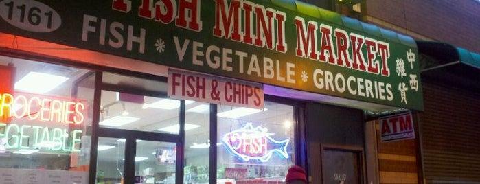 K & B Fish Mini Market is one of Posti salvati di Michelle.