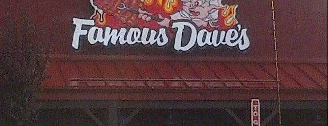 Famous Dave's is one of Tempat yang Disukai Grant.