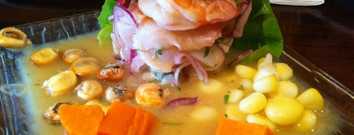 Sazón - Peruvian Cuisine is one of 2013 San Francisco Bib Gourmands.