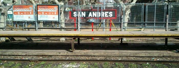 Estaciones Tren Linea Mitre J.L. Suarez