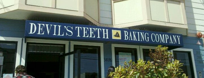 Devil's Teeth Baking Company is one of Cafes/Restaurants SF Done.