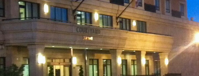 Courtyard by Marriott Washington Capitol Hill/Navy Yard is one of Tempat yang Disukai hanibal.