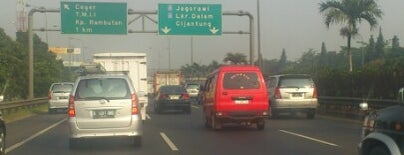 Jalan Tol Lingkar Luar Jakarta Seksi E1 (JORR E1) is one of Jakarta. Indonesia.