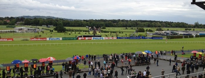 Leopardstown Racecourse is one of In Dublin's Fair City (& Beyond).