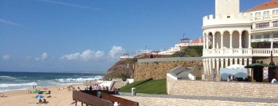 Praia de Santa Cruz is one of Portugal - Tups bday.