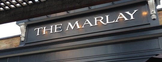 The Marlay House is one of ATL eats and drinks.