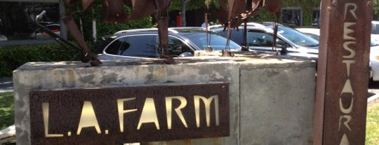 LA Farm is one of LA.