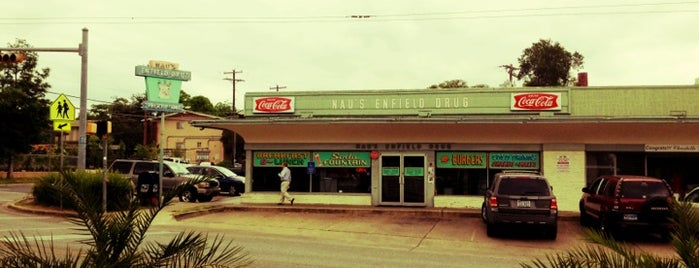 Nau's Enfield Drug is one of Austin.