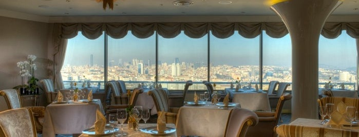 Safran Restaurant  InterContinental Istanbul is one of Locais salvos de Ceren.