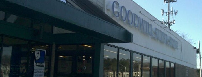 Goodwill is one of Hidden Gems for Rare Cultural and Fashion Finds.