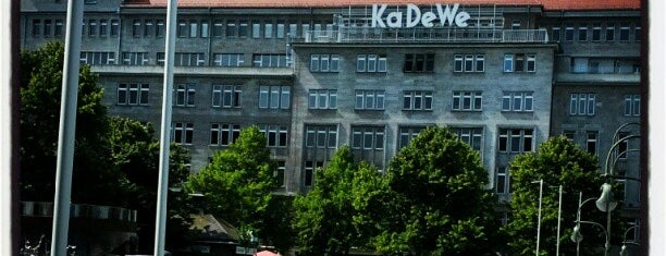 Kaufhaus des Westens (KaDeWe) is one of Berlin | Deutschland.