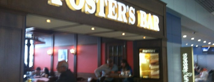 Foster's is one of Tempat yang Disukai Chuck.