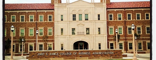 TTU - Rawls College of Business is one of Michael'in Beğendiği Mekanlar.