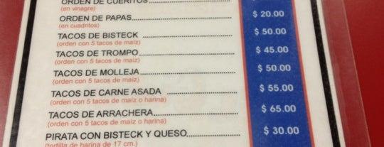Tacos El Güero is one of restaurantes.