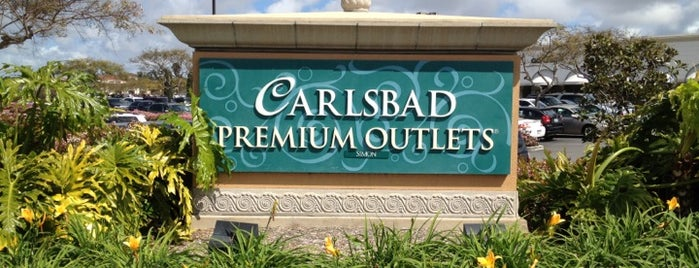 Carlsbad Premium Outlets is one of San Diego,United States.