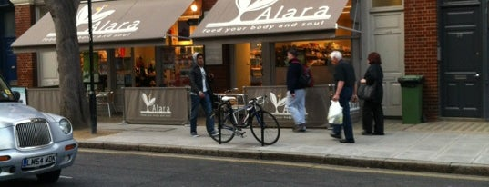 Alara Wholefoods Health Shop is one of Veggie food places to try.