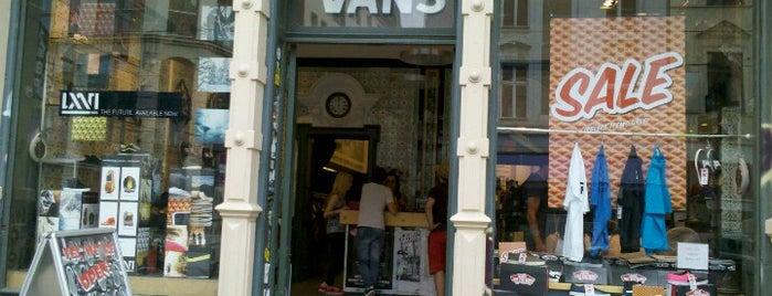 Vans Store is one of Berlin.