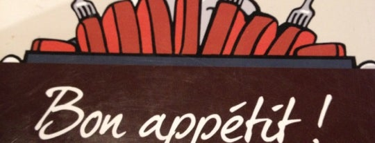 Hippopotamus is one of restaurant.