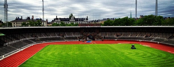 Stockholms Stadion is one of Stockholm City Guide.