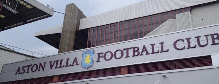 Villa Park is one of Part 1~International Sporting Venues....