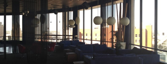 Skyview Lounge is one of Places to try.