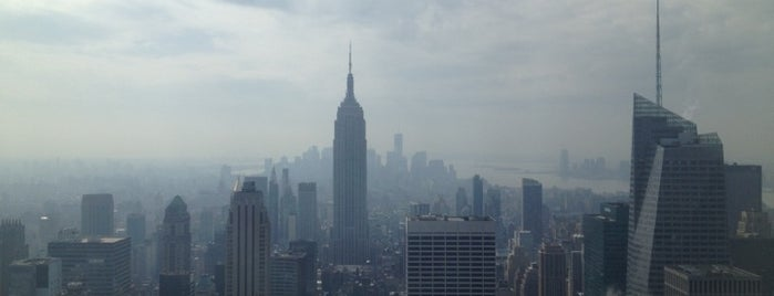 Top of the Rock Observation Deck is one of NYC<3Love.