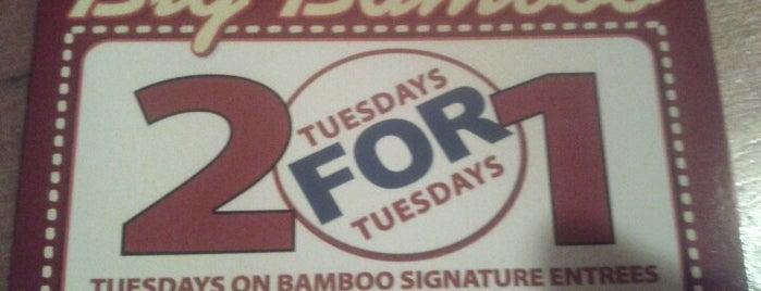 Big Bamboo Cafe is one of Hilton Head & Savannah.