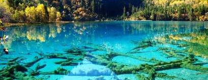 Jiuzhaigou Natural Park is one of wonders of the world.