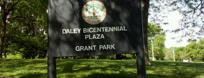 Daley Bicentennial Plaza is one of 101 places to see in Chicago before you die.