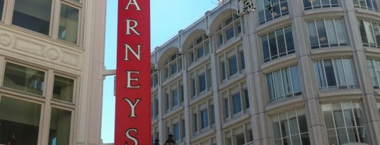 Barneys New York is one of San Francisco.