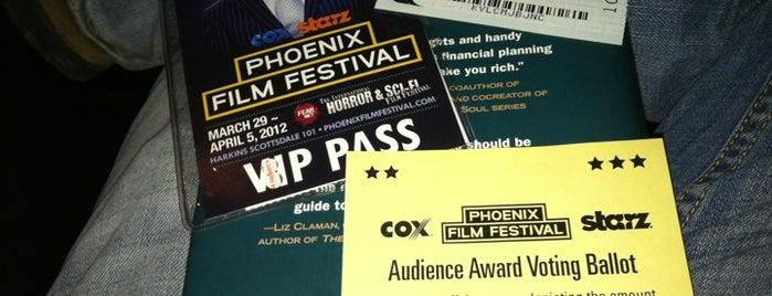 Phoenix Film Festival is one of Locais salvos de jeffrey.