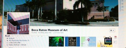 Boca Museum Of Art is one of Boca Raton, FL.