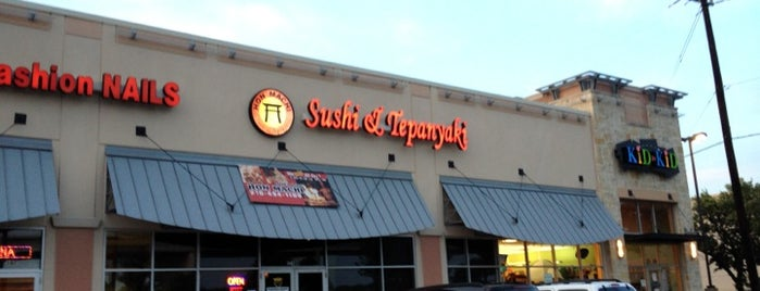 Hon Machi Sushi & Teppanyaki is one of To Try.