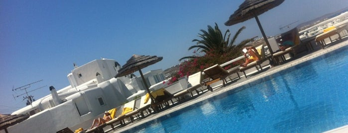 Belvedere Hotel Mykonos is one of Int'l Random Places.