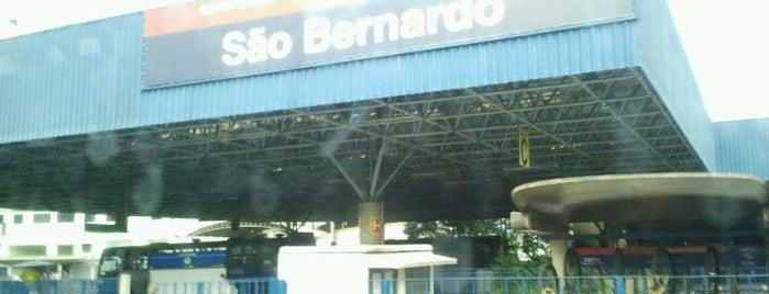 Terminal Metropolitano São Bernardo do Campo is one of Aonde vou sempre ....