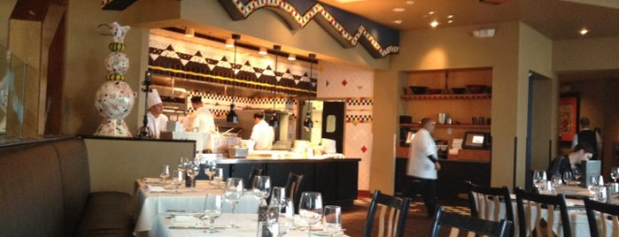 The Dining Room at Wolfgang Puck Grand Cafe is one of Disney Dining.