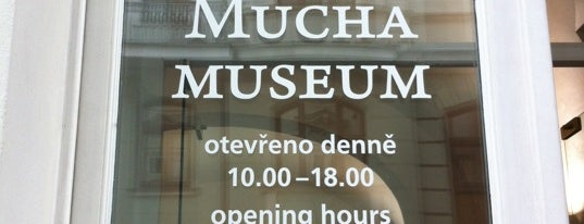 Muchovo muzeum | Mucha Museum is one of Prague.