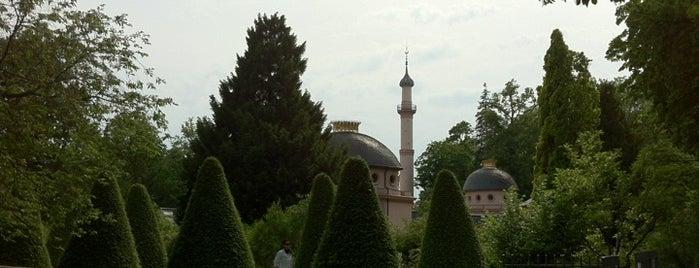 Schloss Schwetzingen is one of 100 обекта - Германия.