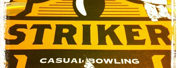 Striker Casual Bowling is one of Locais curtidos por Gabriel.
